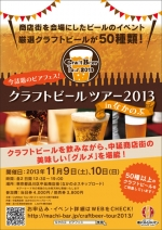 CraftBeer Tour 2013 in なかのぶ